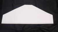"17"" Glue top plain garment cover"