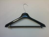"18"" Men's Suit Hanger Black"