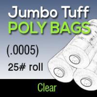 Jumbo Tuff Poly (.0005) 25# roll