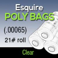 Esquire Poly (.00065) 21# roll