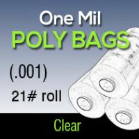 "72"" One Mil Poly (.001) 21# roll"