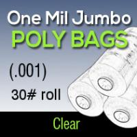 One Mil Jumbo Poly (.001) 30# roll