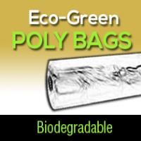 Eco-Green Poly Bags (Biodegradable) 21lb