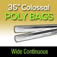 "Colossal Poly-35"" Wide/ Continuous"