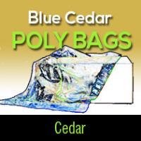 Blue Cedar Bags (100 per box)