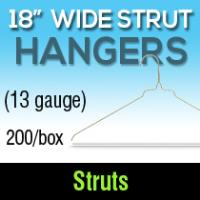 """18""""/13 gauge Strut Hangers (200)"""