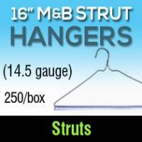 """16"""" M & B Strut Hangers (250)"""