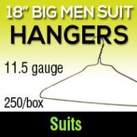 """18"""" Big Men Hangers/ 11.5ga (250)"""