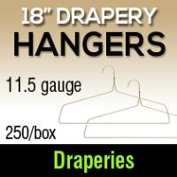 "18"" Drapery Hangers/11.5ga (250)"