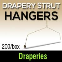 Drapery Strut Hangers (200) M&B