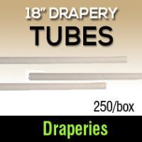 "18"" Drapery Tubes (250)"