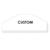 "Garment Covers 20"" FB / 2-side Custom Printed 12500 covers 5 boxes"