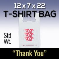 12X7X22 THANK YOU STD WT BAG (Each)