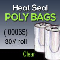 21x7 00065 30lb Heat Seal Poly