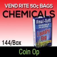 Vend rite 50 cent bags 144/BX