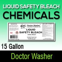 Dr washer Liquid Safety Bleach 15 GL