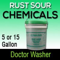 Dr washer rust sour
