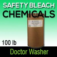 Dr washer safety bleach 100 LB