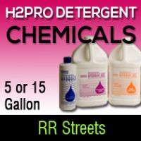 H2pro detergent 5gl and 15gl