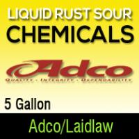 ADCO LIQUID RUST SOUR 5 GAL PAIL