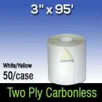 """3"""" X 95' 2-PLY W/C"""
