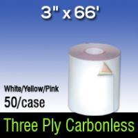 """3"""" X 66' 3 PLY W/C/P"""