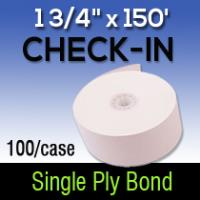 "1 3/4"" X 150' Single ply bond"