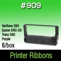 Verifone 250/Epson ERC-23/Tranz 330 (Purple) #909