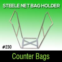 Steele Net Bag Holder #230