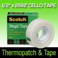 "353205 1/2"" X 2592' Cello tape"