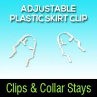 Adjustable Plastic Skirt Clip