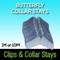 BUTTERFLY COLLAR STAYS