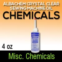 Albachem Crystal Clear Sewing Machine Oil 4oz