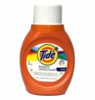 Tide Laundry Liquid W/ Bleach 2X (25 oz) (6/cs)