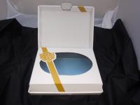 CHRISTENING BOX-LITTLE VIRGIN WHITE