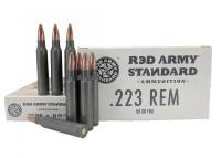 .223 Rem Red Army Standard 55 Grain FMJ - AM3089