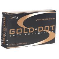 .223 Rem Speer LE Gold Dot Soft Point 55 Grain