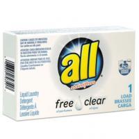 All Free Clear HE Liquid Detergent 100/cs