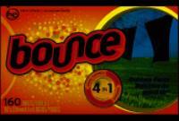 Bounce Bulk Laundry Sheets 6/160 Sheets Case