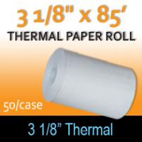 "Thermal Paper Roll - 3 1/8"" x 85'"