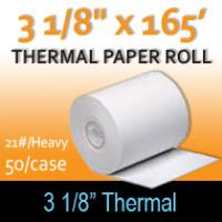"Thermal Heavyweight Roll - 3 1/8"" x 165' (21#)"