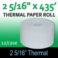 "Thermal Paper Roll - 2 5/16"" x 400'"