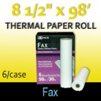 "Thermal Paper Roll 8 1/2"" X 98'"