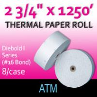 "Diebold I Series - 2 3/4"" x 1250' (#16 Bond)"