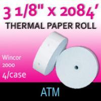"""Wincor 2000 ATM Paper - 3 1/8"""" x 2084'"""