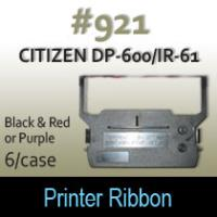 Citizen DP-600/IR-61 Ribbon  #921