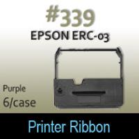 Epson ERC-03 Ribbon (Purple) #339