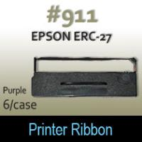 Epson ERC-27 Ribbon (Purple) #911