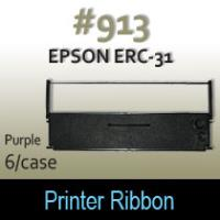 Epson ERC-31 Ribbon (Purple) #913
