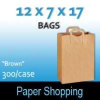 1/6 Heavy Duty Grocery Sacks (12 x 7 x 17)